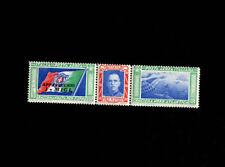 Italia 1933 Crociera Nord Atlantica Coppia Trittici   NMH **