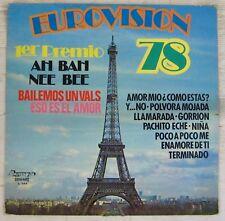 Tour Eiffel 33 tours Eurovision 78