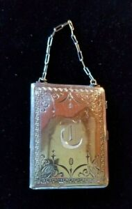 Antique Sterling Silver coin, bill, and compact purse