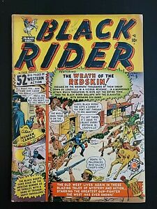BLACK RIDER #9, Maneely-c, Shores/Brodky-a, GD Cond., Marvel (1949)