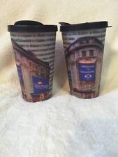 NYC Broadway Telecharge Shubert Organization Souvenir Hologram Cups