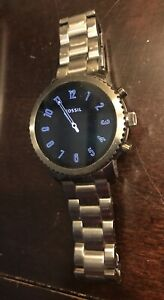 fossil smart watch men