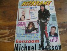 Hitkrant 1987: Jackson/Madonna/Donna Summer/Prince/Five Star/Queen/Depeche Mode