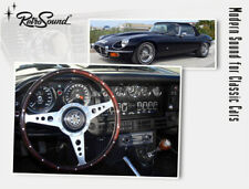 For Jaguar 1961-75 Vintage Car Radio DAB+ UKW USB Bluetooth Aux