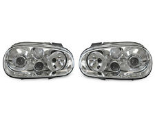 DEPO 99-04 VW Golf 4 GTi True R32 Look Glass D2S Projector Headlight w/Fog Light