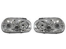 DEPO 99-04 VW Golf 4 GTi True R32 Look Glass D2S Projector Headlight w/Fog Light