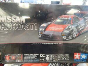 1/24 scale model car kit by TAMIYA NISSAN R390 GTI