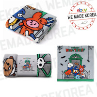 BT21 Character Blanket Warm Pad Halloween Edition Official K-POP Authentic Goods