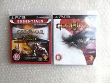 God Of War Collection Volume 2 II PS3 + God of War 3 III PS3 PlayStation 3
