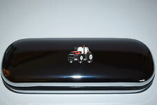 Case International Red Tractor Chrome Glasses Case Novelty Farming Gift Boxed