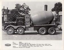 C. W. BLAKESLEE - 1950s AUTOCAR 4x8 C6764 CHALLENGE 8-CY Mixer 8x10 B&W Photo