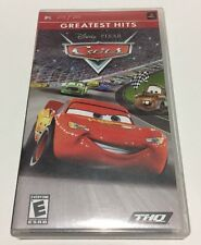 """Sony PSP Greatest Hits - Disney Pixar """"Cars"""" Game, UMD Disk and Pamphlet used"""