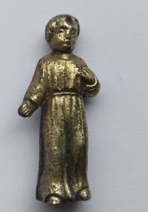POST-MEDIEVAL ORTHODOX CHRISTIAN GILDED FIGURINE OF A CHILD 1850 AD