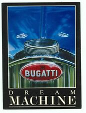 Post Card-  Bugatti, Dream Machine (NEW 4x6 (autoC#111*22