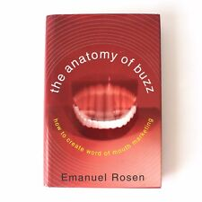 The Anatomy of Buzz Book Emanuel Rosen 2000 Word of Mouth Marketing How to Creat