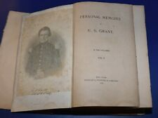 New listing personel memoirs of U.S.Grant 1885 Volume 1