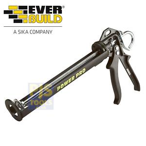 Everbuild SGNEWPOWER power pro silicone mastic sealant gun for 310ml 400ml sizes