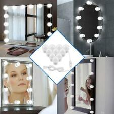 10 LED Bulbs Hollywood Mirror Lights Vanity Cosmetic Makeup  Table Light Gifts