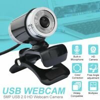 12MP HD Webcam USB 2.0 Computer Web Camera For PC Laptop Desktop Video With Mic