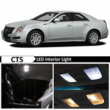 16x White Interior LED Lights Package Kit for 2003-2007 Cadillac CTS
