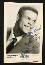 1958 Singer ROY HAMILTON performs on the Steve Allen Show PHOTO 001 June 15