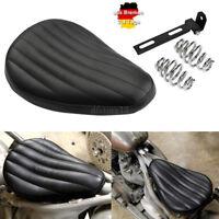 Roll&Tuk Leather Solo Sitz Saddle Bracket Set für Harley Chopper Custom Bobber