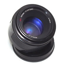 Minolta AF 50 mm f1.7 focale fissa Sony A film Full Frame Alpha digitali il Giappone in buonissima condizione