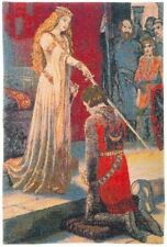 """NEW ACCOLADE 26"""" X 18"""" FULLY LINED TAPESTRY WALL HANGING WITH ROD SLEEVE"""