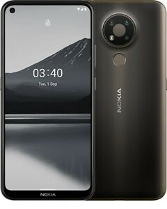 Nokia 3.4 (TA-1283 DS) Charcoal Grey Android Mobile Phone Unlocked New Sealed