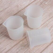 6Pcs Silicone Measuring Cups for Resin 100Ml,Diy Glue Tools Cup Making Han U4B3