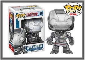 Funko Pop! Vinyl Marvel Captain America Civil War - War Machine #128