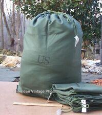 NEW USMC Military Canvas Barracks Bag Cargo Stuff Utility Genuine Issue USA P38