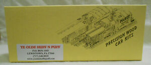 HO 1/87 Ye Olde Huff N Puff Silverstreak Honey Bobber 316 Undecorated kit