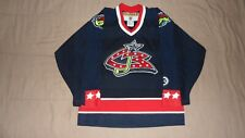 Vintage Columbus Blue Jackets blue CCM Youth Size L/XL NHL Hockey Jersey