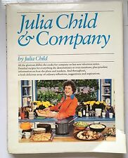 Julia Child and Company Dishes on Her TV Series 1979 Hardcover Vintage