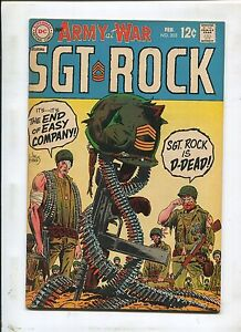 Our Army At War #202 ~ Sgt Rock The End Of Easy Company! ~ (Grade 7.5)WH