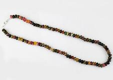 Fantastic Magnificient 285.45 Cts Natural Watermelon Tourmaline Beads Necklace