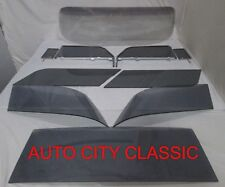 1957 CHEVROLET CHEVY NOMAD GLASS WINDSHIELD VENT DOOR IN FRAME QUARTERS &  BACK
