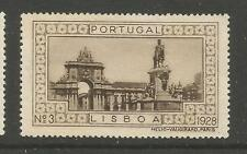 Portugal 1928 poster stamp/label (#3 Lisbon)