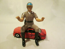 1980 MGM Tv Show Chips John Ponch Motorcycle Highway Patrol Police Cop Figure HK