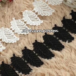 1 Yard Crochet Lace Trim Ribbon Wedding Appliques Dress Sewing Decor Craft BF258
