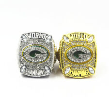 2pcs 2010 2010 Green Bay Packers world Championship rings !