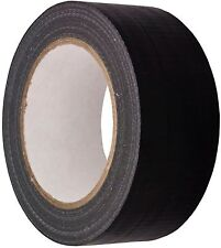 BLACK AUTOMOTIVE Grade DUCT Tape Gaffa Cloth 48mm x 50m Waterproof Strong