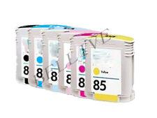 7 CARTUCCE PER STAMPANTE HP84 HP85 Designjet 130gp, 130nr, 30, 30gp, 30n, 90gp