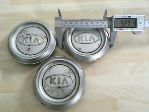 3x Kia Sorento 93mm wheel  centre caps  529603E070  # JL266