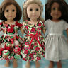 """18"""" Doll Christmas Dress fits 18 inch American Girl Doll Clothes cd76abc"""