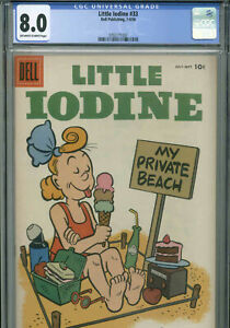 Little Iodine # 33 - July-September - 1956 - CGC 8.0