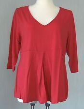 """tolles Shirt von """" M.I.M. """" in rot   Gr. 52 / 54"""