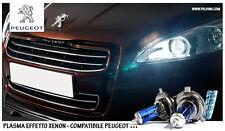"""LAMPADINE H7 PLASMA XENON BIANCO ABBAGLIANTI - """"PEUGEOT 206"""" - NO ERRORS!"""