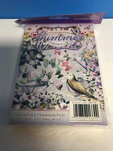 24 X A6 Conjunto de muestra Hunkydory pequeño libro de Sweet Treats Cake Topper Cardmaking